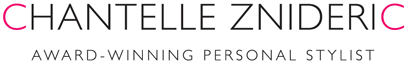 Welcome to Chantelle Znideric Award-winning Personal Stylist Logo
